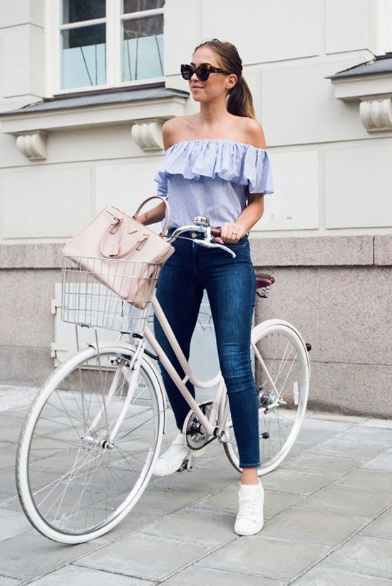 How to Wear High Waisted Jeans   Style Tips   Lugako