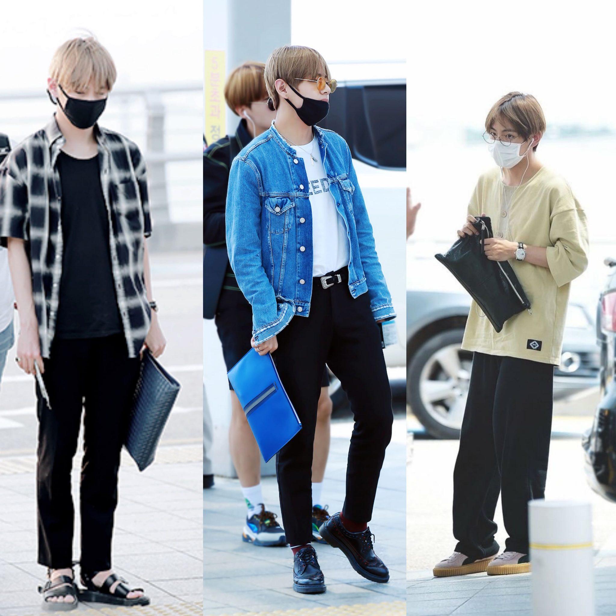 kim taehyung fashion  style 2019  bts  kpop  lugako