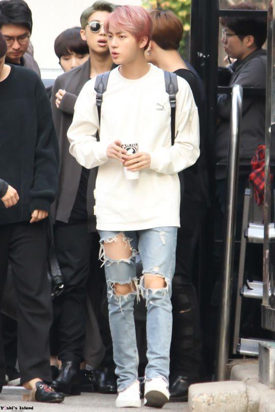 Jin Fashion And Style 2020 Bts K Pop Lugako