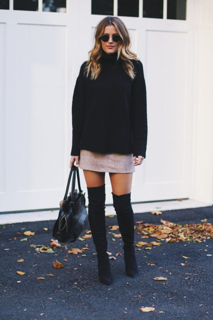 Favorite fall trend: over the knee boots The Style