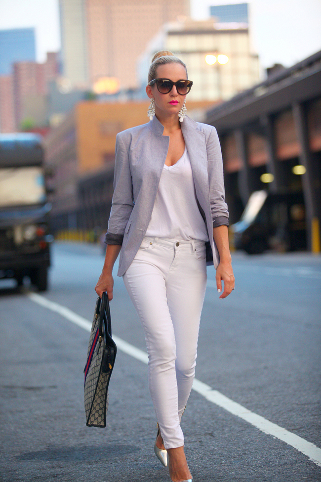 How to Style White Jeans for Women   Lugako